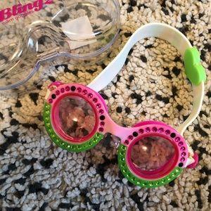 JCrew Crew Cuts Watermelon Bling 2 Goggles